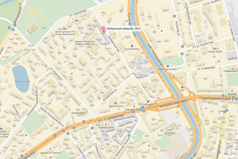 общение колодезный переулок москва карта оптимальную